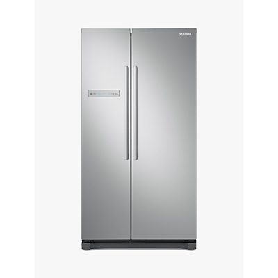 Samsung RS54N3103SA Freestanding American Style Fridge Freezer, A+ Energy Rating, 91cm Wide, Silver