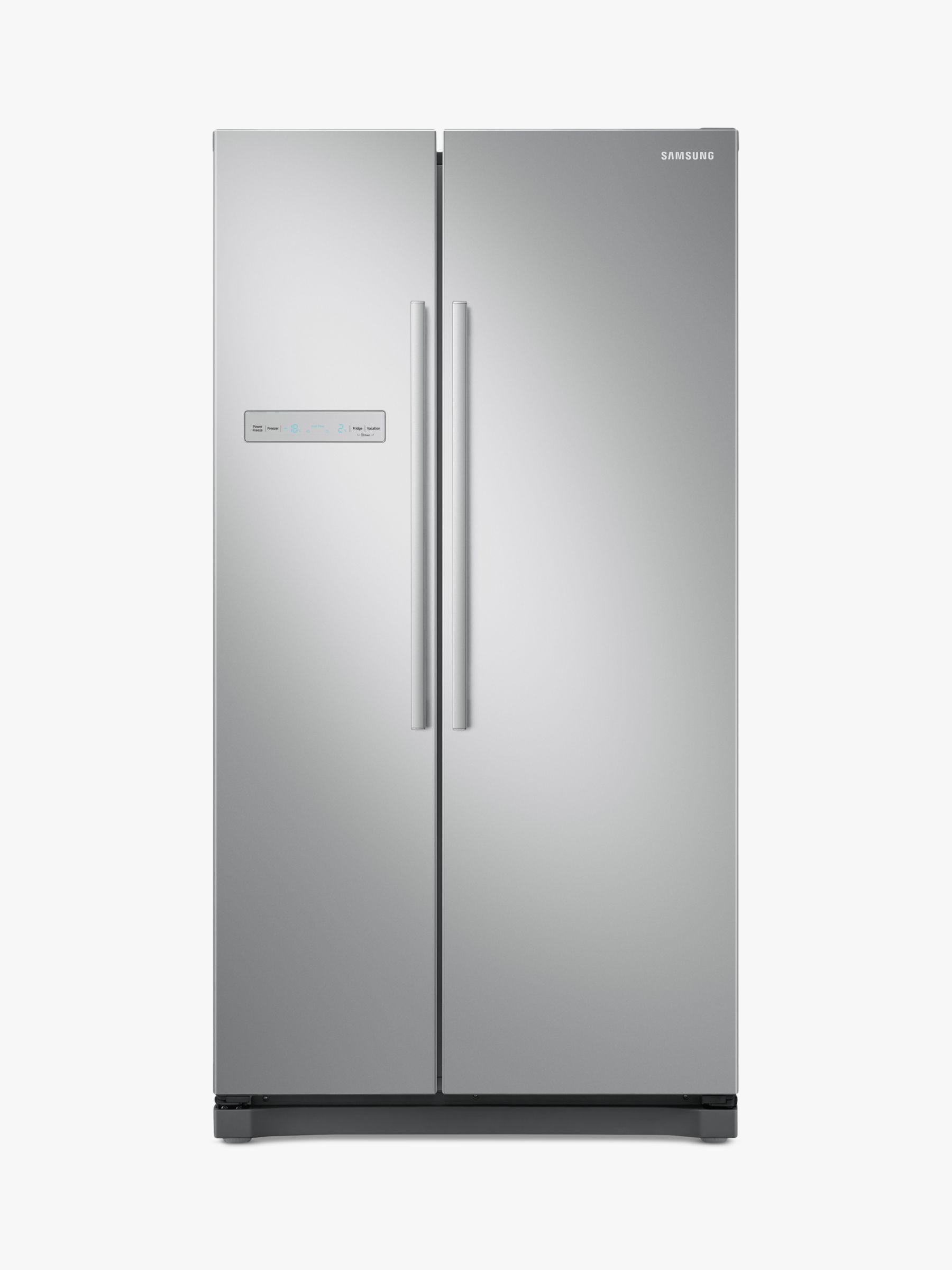 Samsung Samsung RS54N3103SA Freestanding American Style Fridge Freezer, A+ Energy Rating, 91cm Wide, Silver
