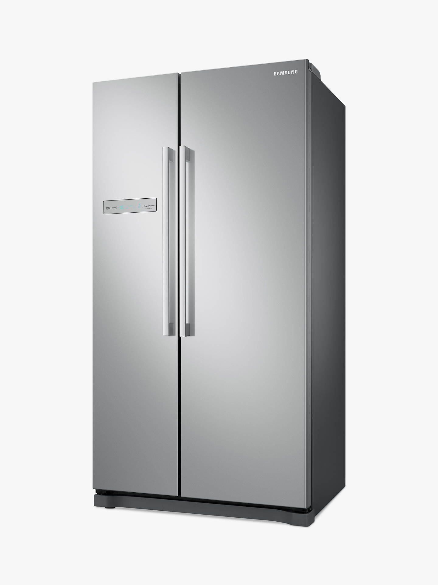 Buy Samsung RS54N3103SA American-Style Freestanding 65/35 Fridge Freezer, A+ Energy Rating, 91cm Wide, Silver Online at johnlewis.com