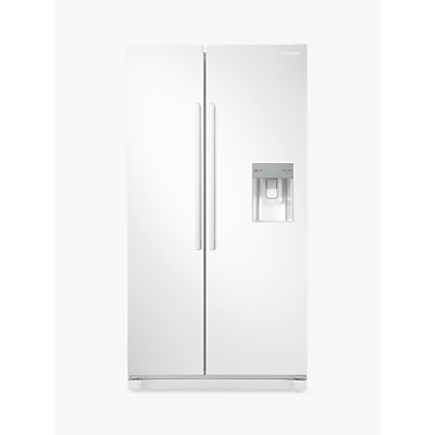 Samsung RS52N3313WW Freestanding American Style Fridge Freezer, A+ Energy Rating, 91cm Wide, White