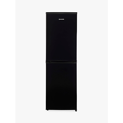 Image of Hoover HVBF 5182BK Freestanding Fridge Freezer, A+ Energy Rating, 55cm Wide, Black