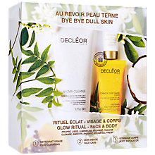 Buy Decléor Glow Ritual Face & Body Skincare Set Online at johnlewis.com