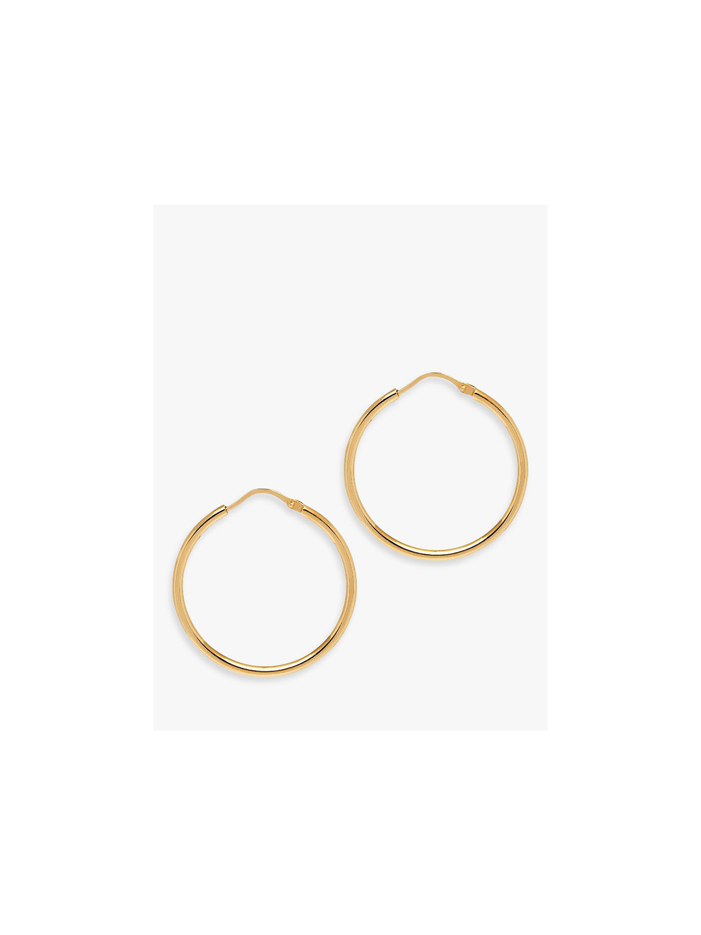 BuyThe Hoop Station La Chica Latina Small Hoop Earrings, 2.7cm, Gold Online at johnlewis.com