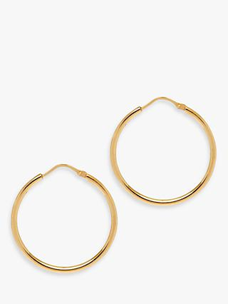 The Hoop Station La Chica Latina Small Hoop Earrings, 2.7cm, Gold