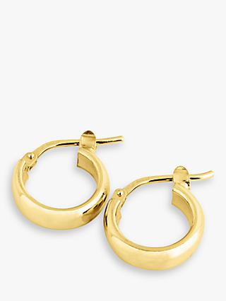 The Hoop Station La Elba Huggie Small Hoop Earrings