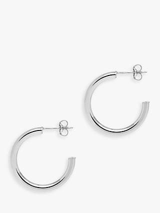 The Hoop Station La Napoli Medium Hoop Earrings