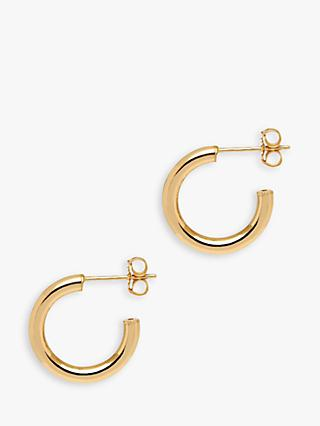 The Hoop Station La Napoli Mini Hoop Earrings