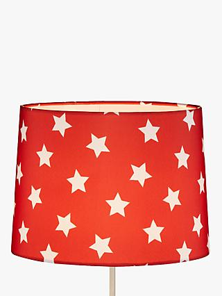 Little Home At John Lewis Star Lampshade Red