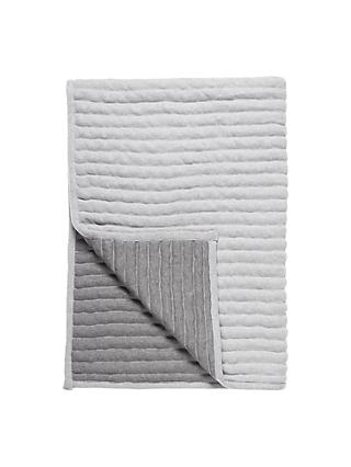 little home at John Lewis Reversible Ribbed Throw