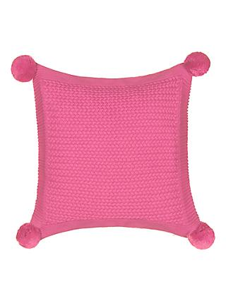 little home at John Lewis Jasmin Pom Pom Cushion