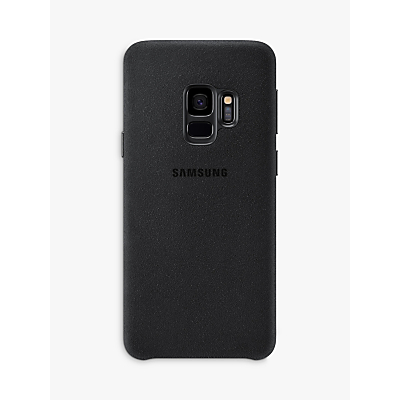 Samsung Galaxy S9 Alcantara Cover, Black