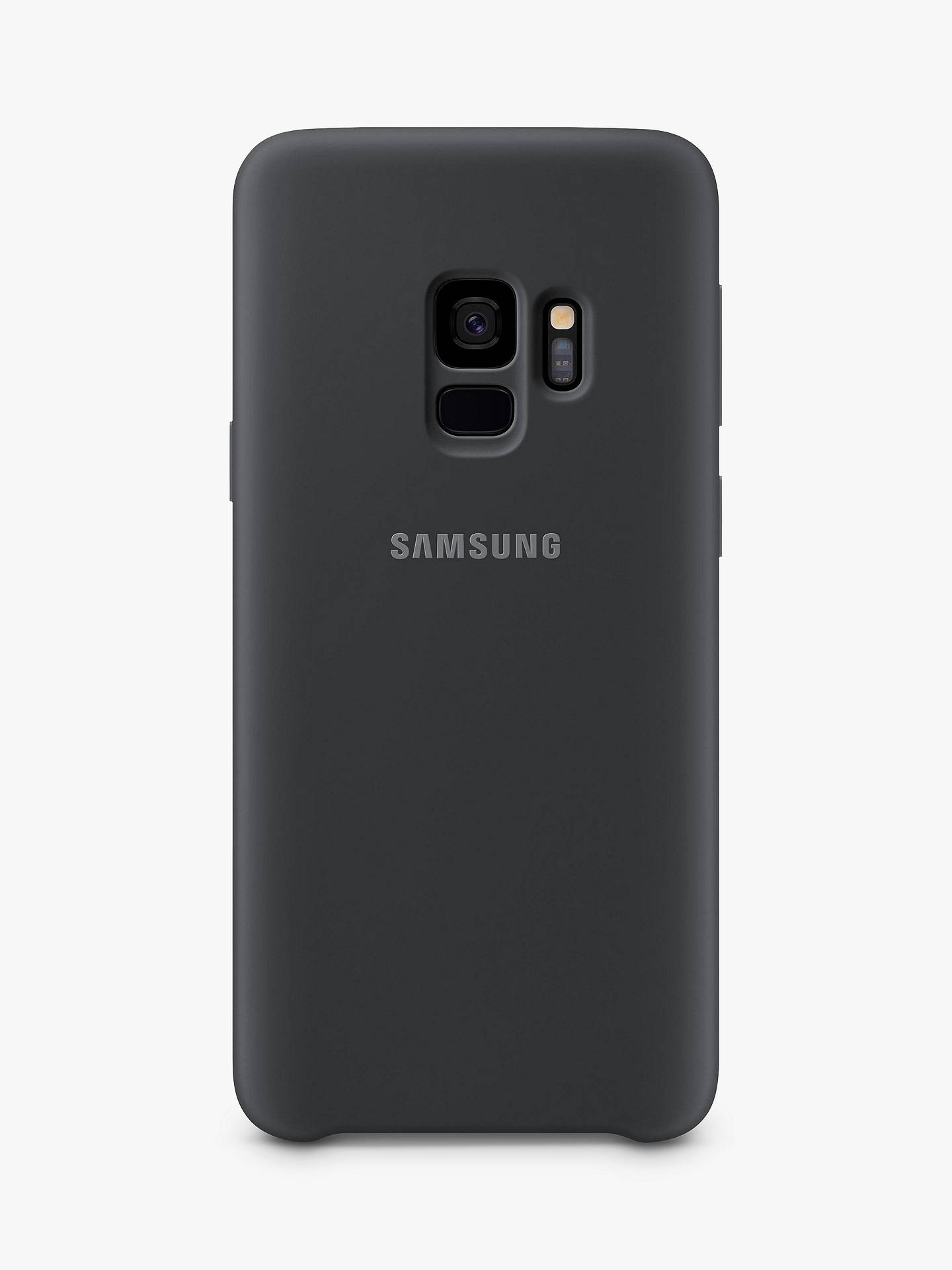 BuySamsung Galaxy S9 Soft Touch Cover, Black Online at johnlewis.com