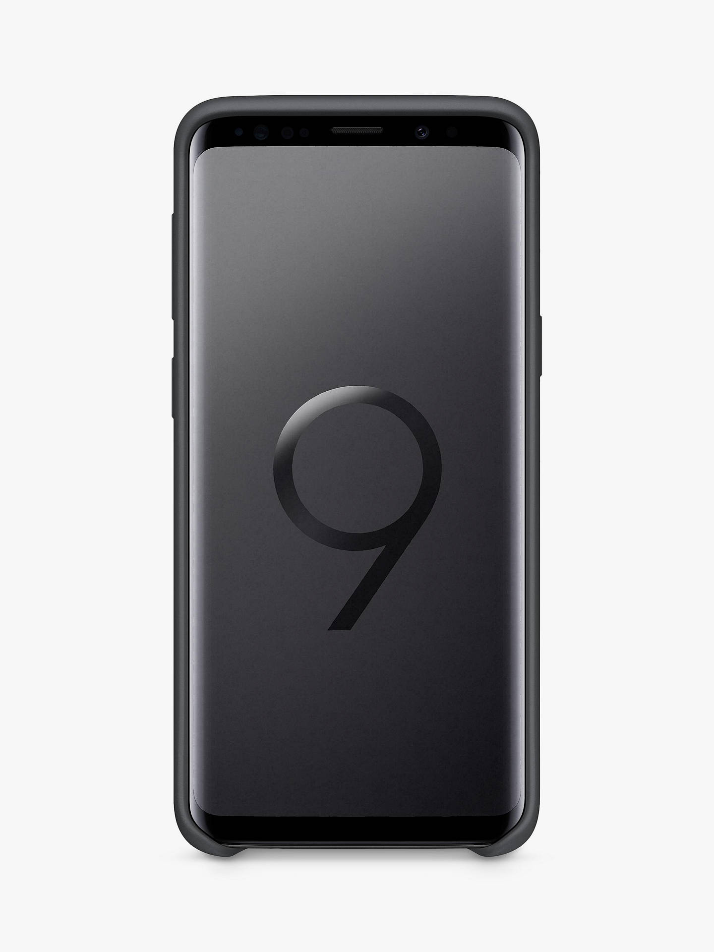 Buy Samsung Galaxy S9 Soft Touch Cover, Black Online at johnlewis.com