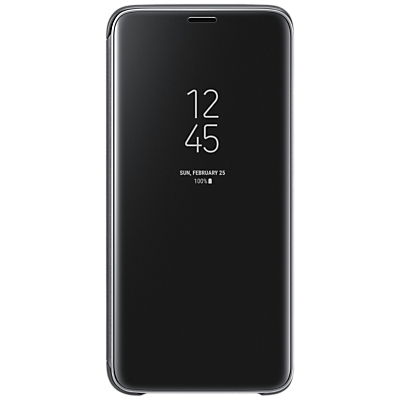 Samsung Galaxy S9 Clear View Flip Stand Case Cover