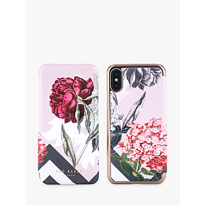 Image of Ted Baker AMELIE Mirror Folio Case for iPhone X