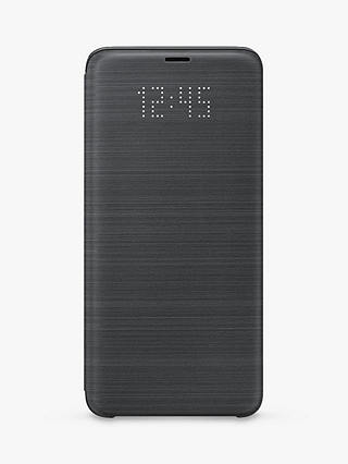 Buy Samsung Galaxy S9 Plus LED Cover, Black Online at johnlewis.com