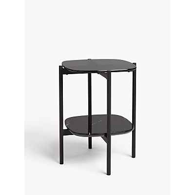 Design Project by John Lewis No.179 Plateau Side Table, Black Marble