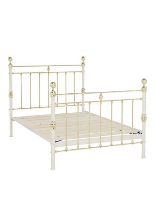 c833ea11e0f5 Wrought Iron And Brass Bed Co. George Bed Frame