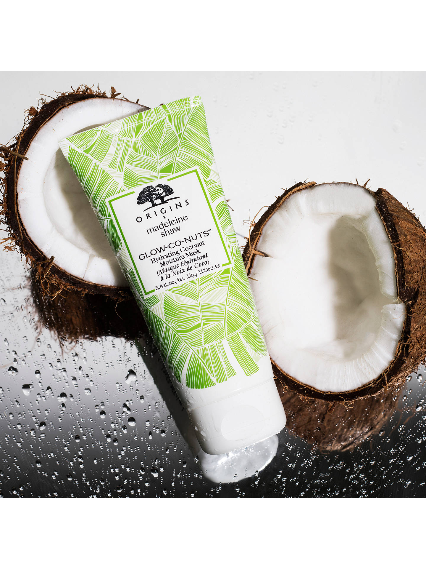 Buy Origins x Madeleine Shaw Glow-Co-Nuts Hydrating Coconut Moisture Mask, 100ml Online at johnlewis.com