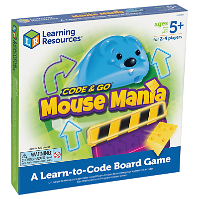 Image of Learning Resources Code & Go Mouse Mania: A Learn-to-Code Board Game