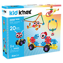 Buy Kid K'Nex Zoomin' Rides Building Set Online at johnlewis.com
