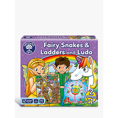Orchard Toys Fairy Snakes & Ladders Game