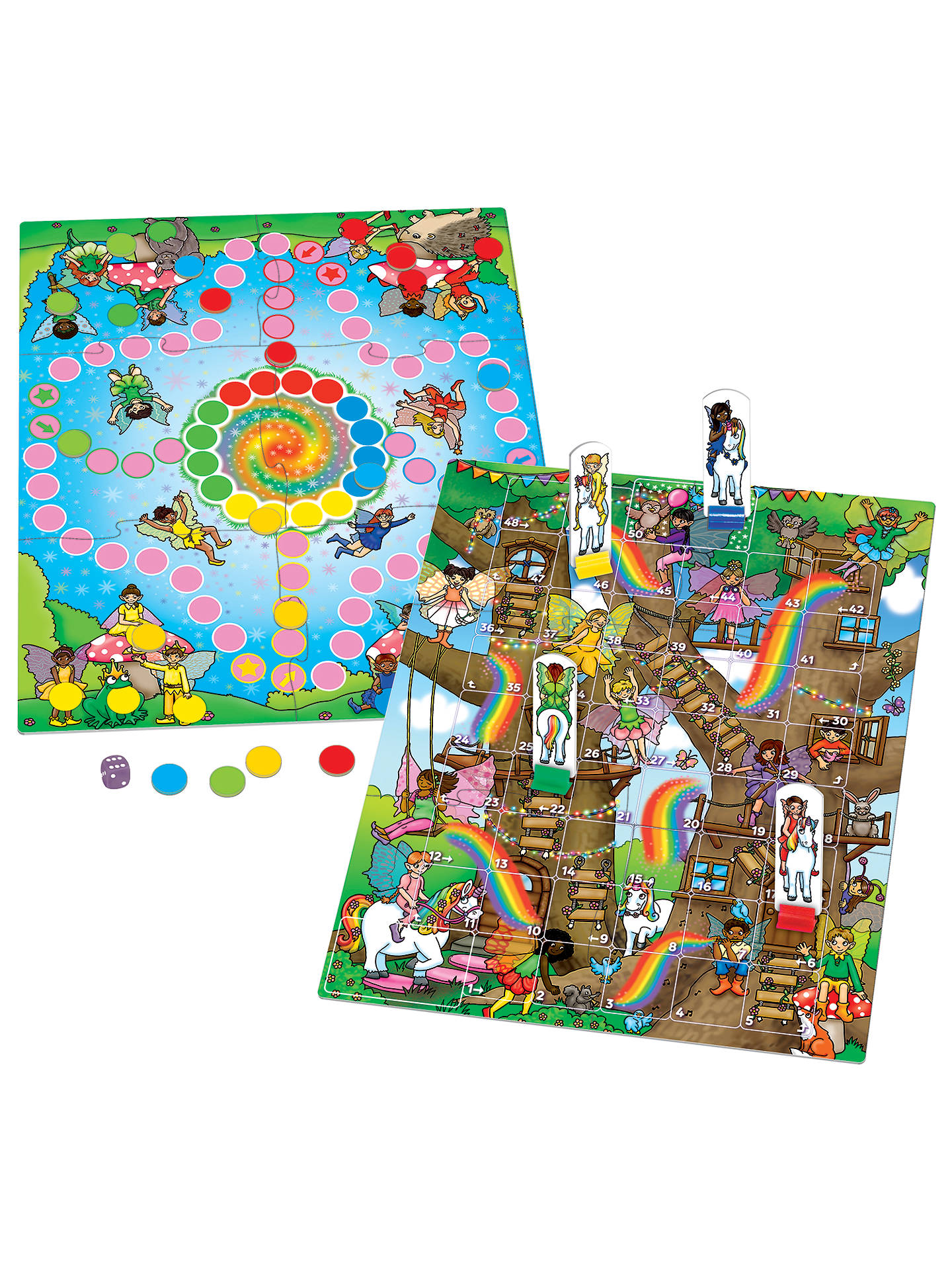 75d674ffffe7 ... Buy Orchard Toys Fairy Snakes & Ladders Game Online at johnlewis.com