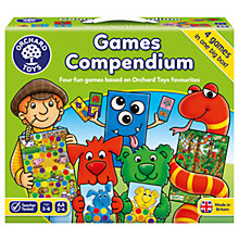 Buy Orchard Toys Games Compendium Online at johnlewis.com