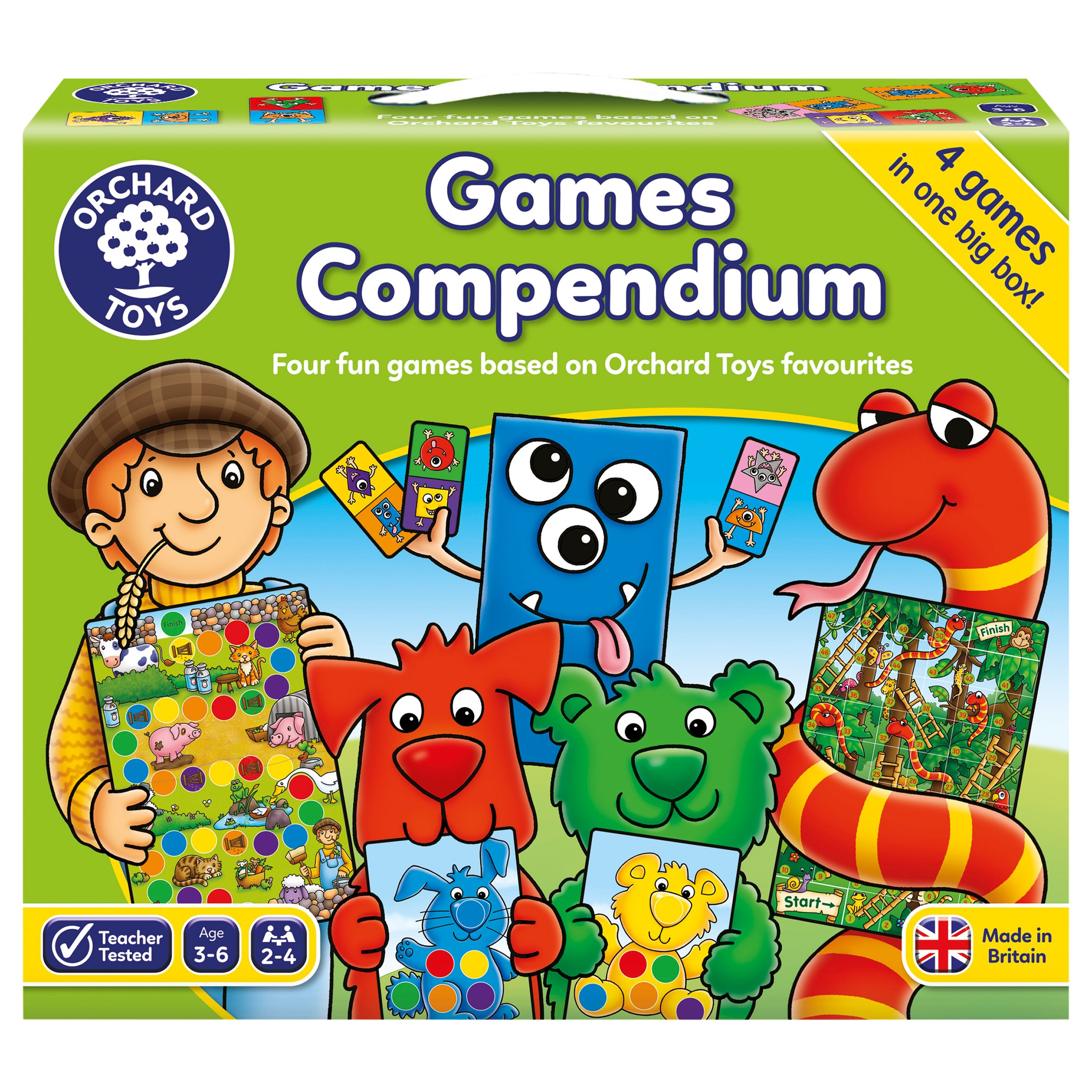 Orchard Toys Orchard Toys Games Compendium