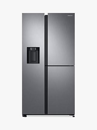 Samsung RS68N8670S9 American-Style Freestanding 65/35 Fridge Freezer, A+ Energy Rating, 91cm Wide, Stainless Steel
