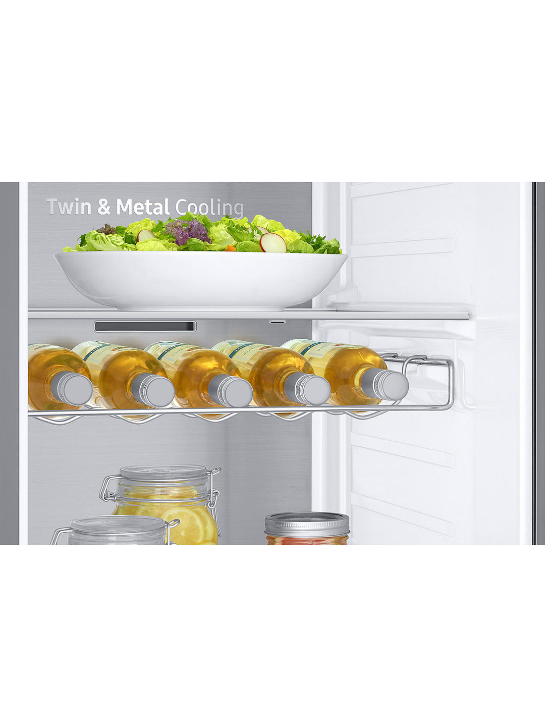 Buy Samsung RS68N8670S9 American-Style Freestanding 65/35 Fridge Freezer, A+ Energy Rating, 91cm Wide, Stainless Steel Online at johnlewis.com