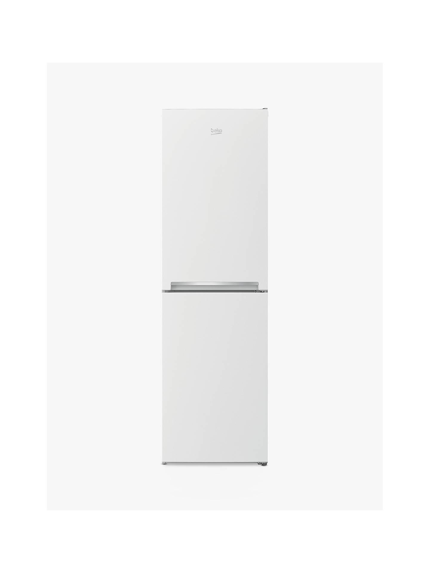 Beko Cjff1582 W Fridge Freezer, A+ Energy Rating, 54cm Wide, White by Beko