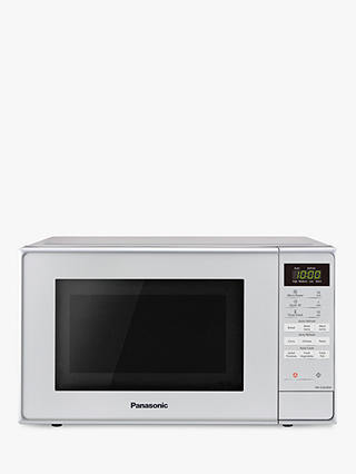Buy Panasonic NN-E28JMMBPQ Freestanding Microwave, Silver Online at johnlewis.com