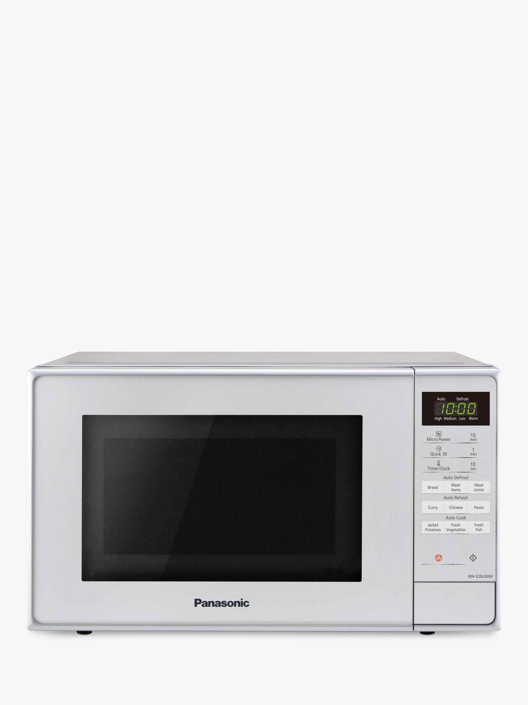 Panasonic Panasonic NN-E28JMMBPQ Freestanding Microwave, Silver