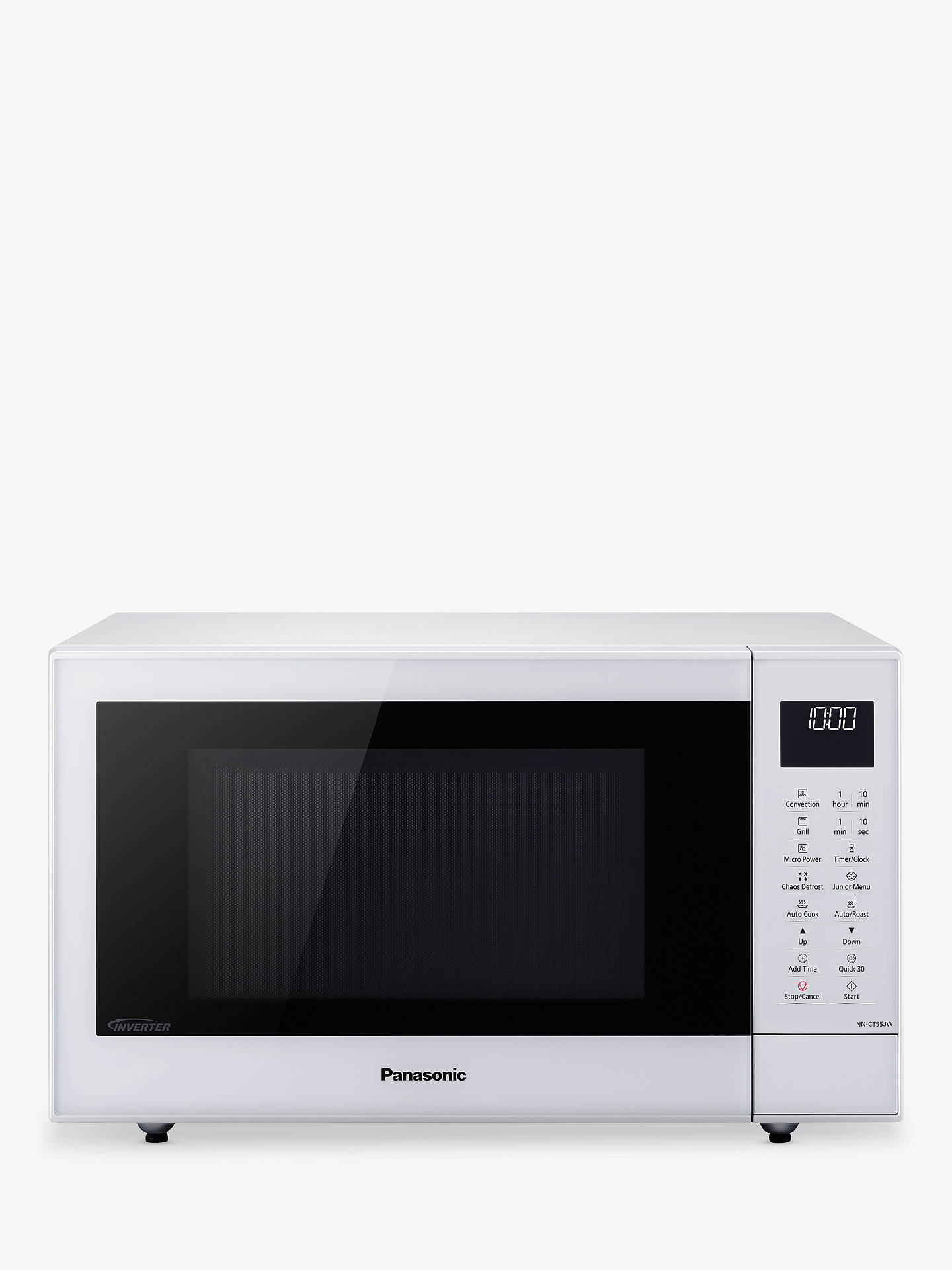 BuyPanasonic NN-CT55JWBPQ Combination Microwave Oven, White Online at  johnlewis.com ...