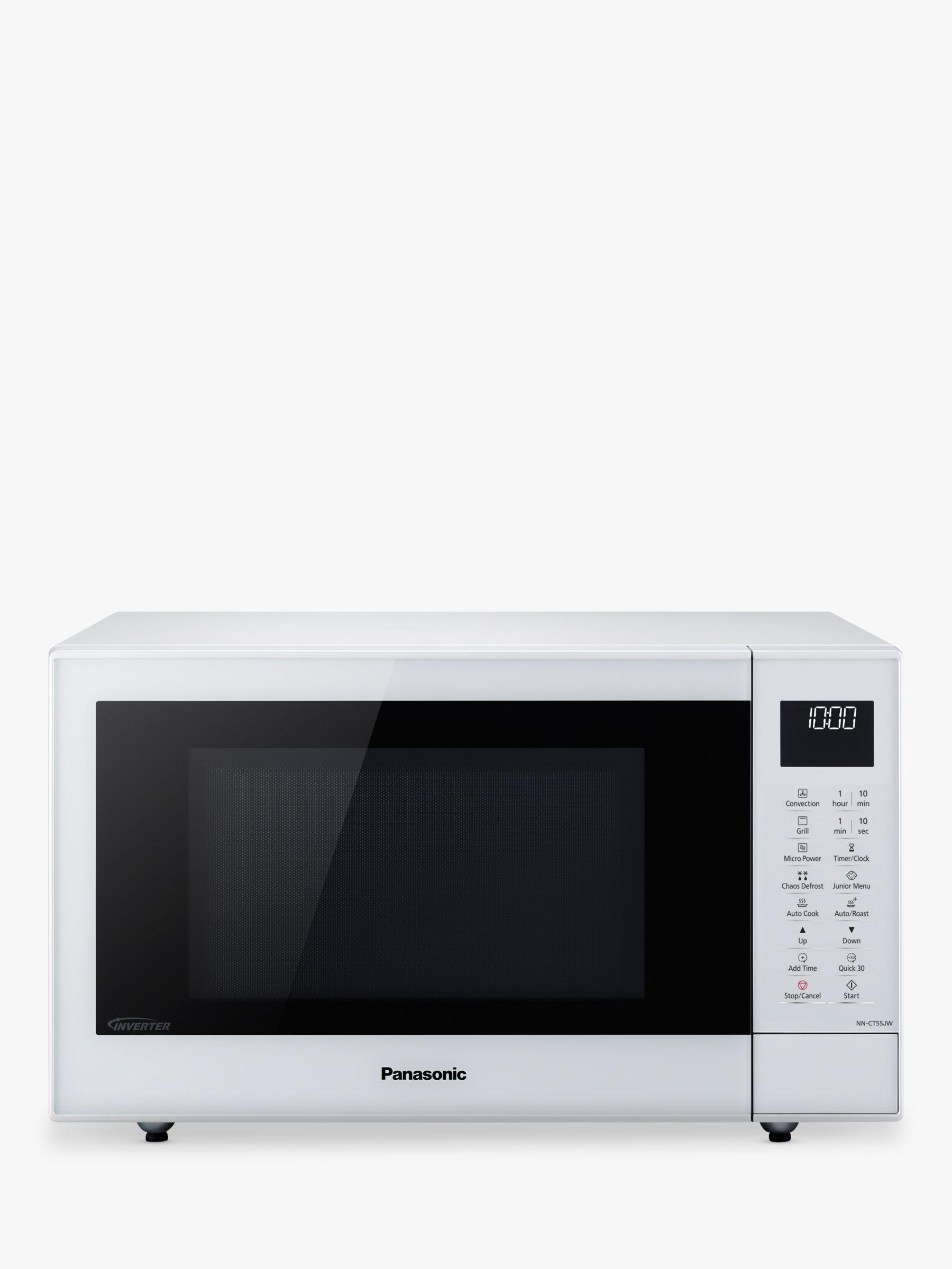 Panasonic Panasonic NN-CT55JWBPQ 27L Slimline Combination Microwave Oven, White