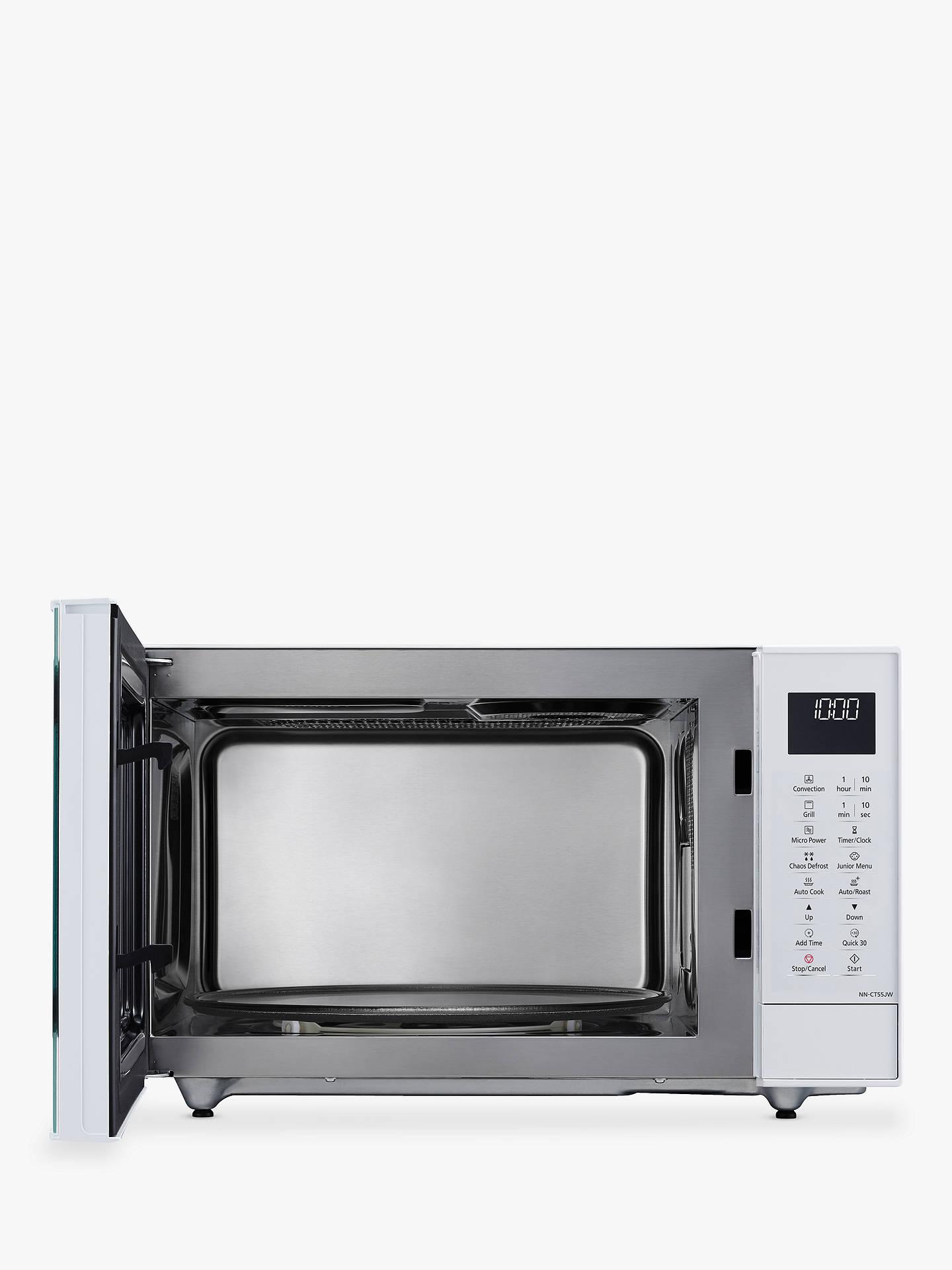 Panasonic Nn Ct55jwbpq 27l Slimline Combination Microwave
