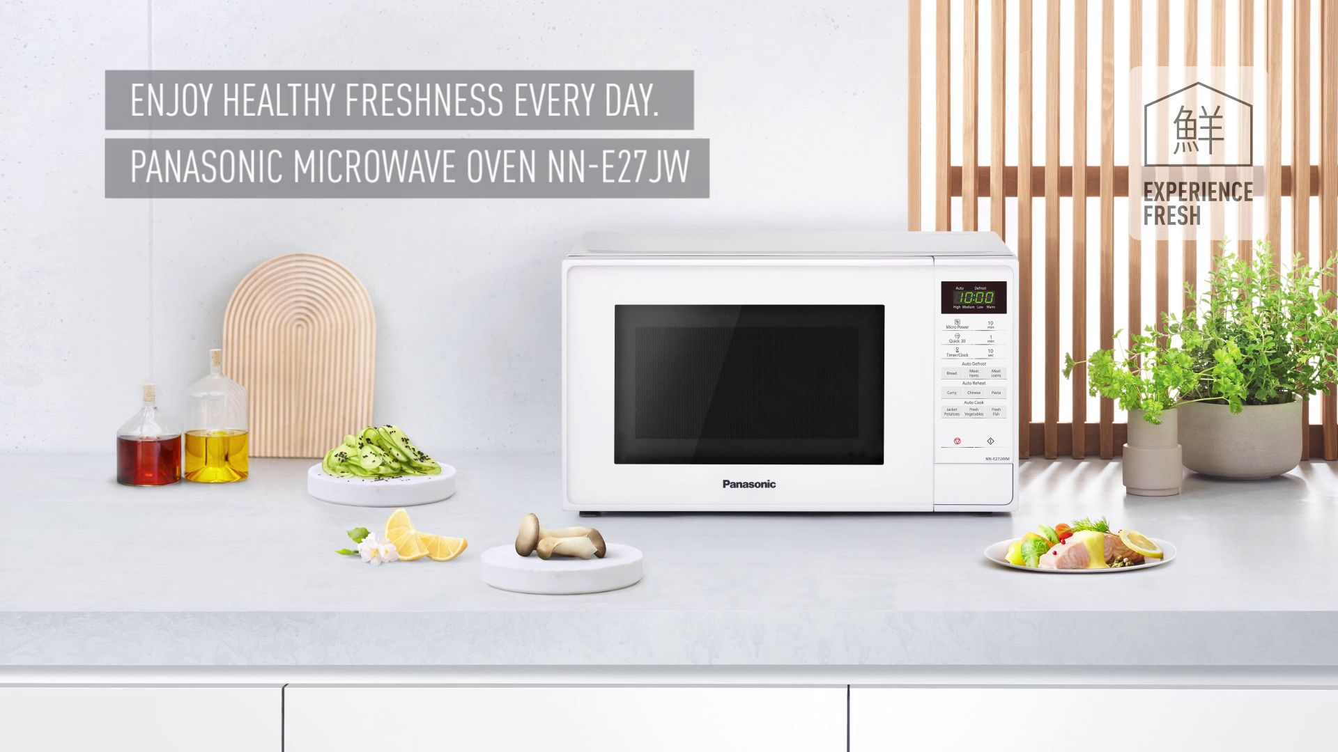 panasonic nn e27jwmbpq microwave white at john lewis partners rh johnlewis com