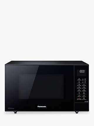 Panasonic NN-CT56JBBPQ 27L Slimline Combination Microwave Oven, Black