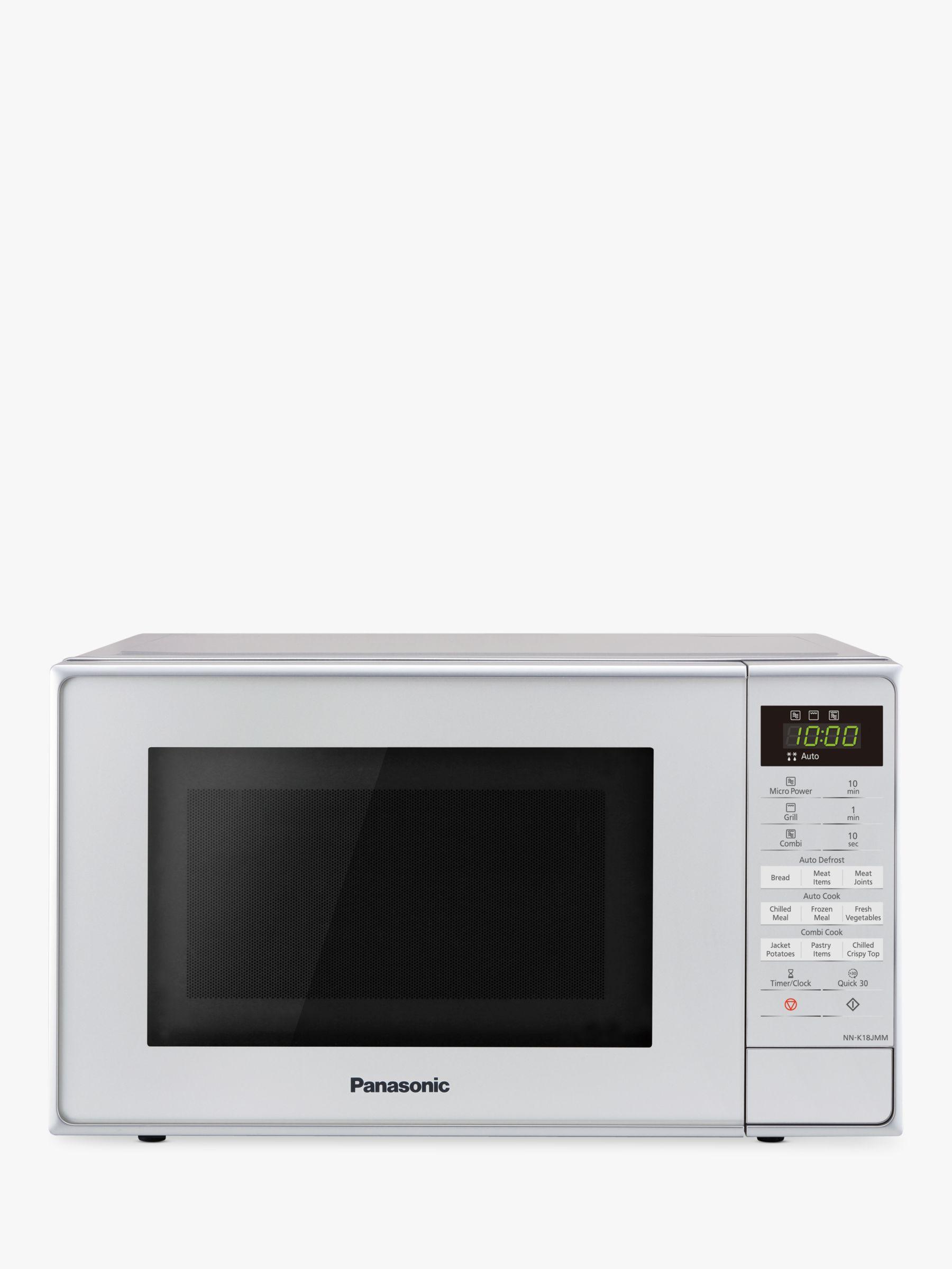 Panasonic Nn K18jmmbpq Freestanding Microwave With Grill Silver