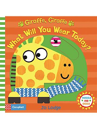 Giraffe, Giraffe What Will You Wear Today? Children's Book