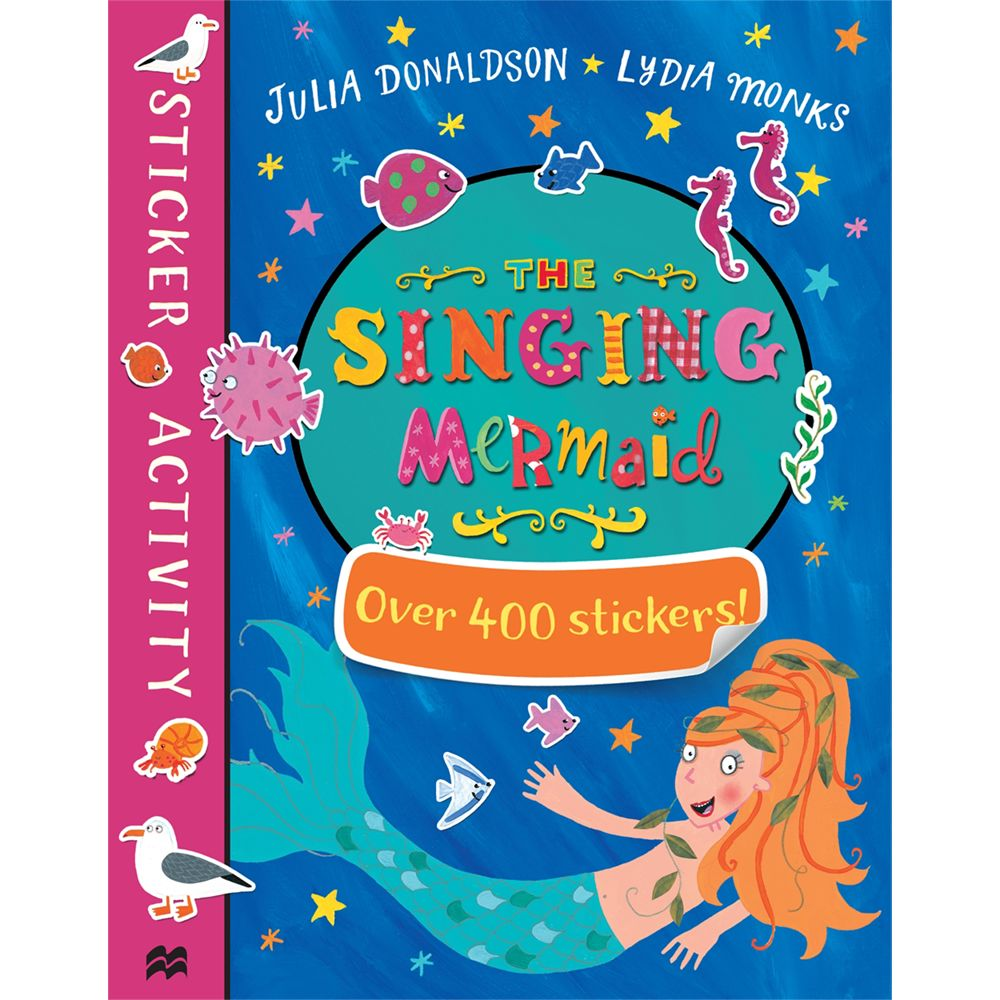 Macmillan The Singing Mermaid/Sugarlump And The Unicorn Sticker Books, Pack of 2