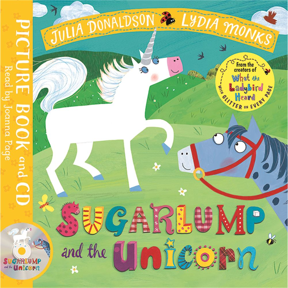 Macmillan Sugarlump and The Unicorn Children's Book And CD