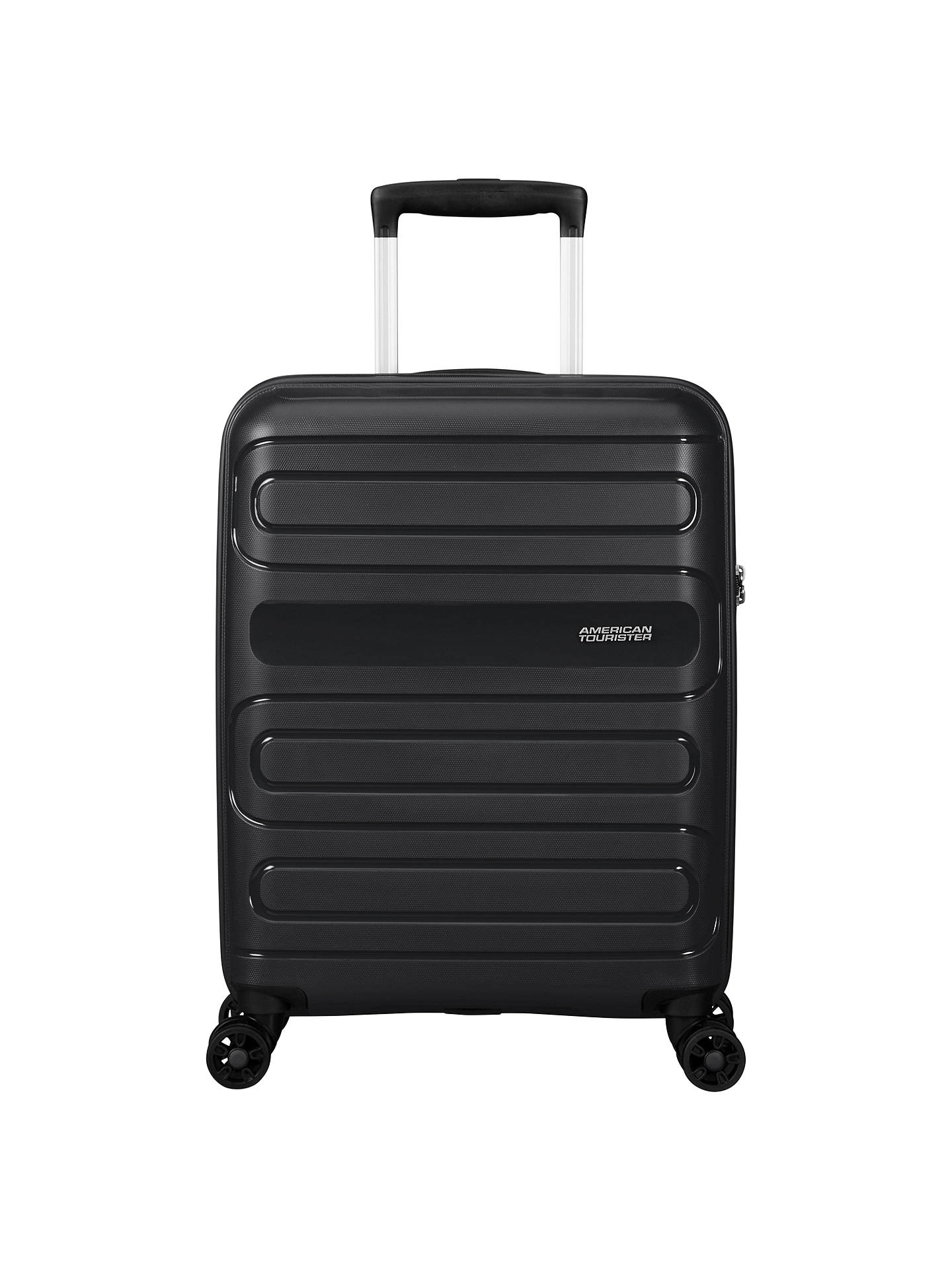 BuyAmerican Tourister Sunside 4-Spinner 55cm Cabin Case, Black Online at johnlewis.com