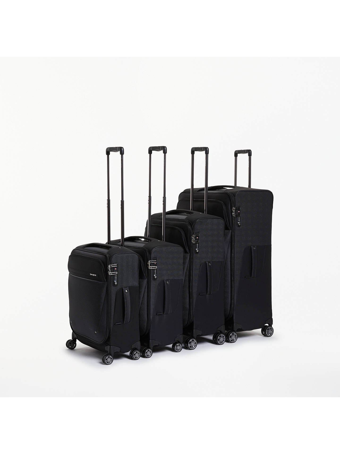 Buy Samsonite B-Lite Icon 4-Spinner 55cm Cabin Case, Black Online at johnlewis.com