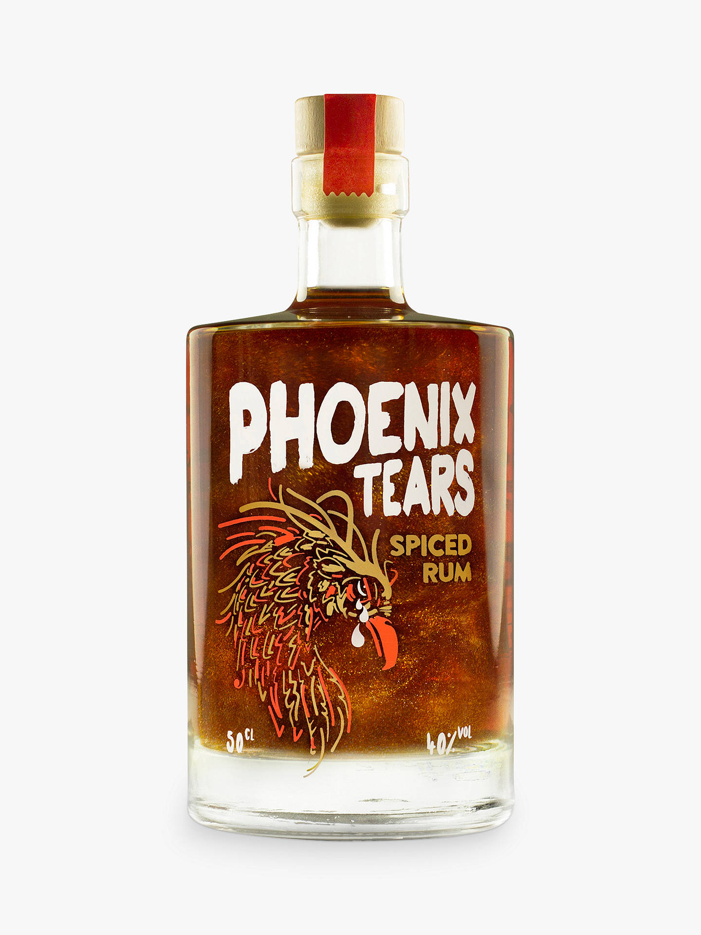 BuyFirebox Phoenix Tears Spiced Rum, 50cl Online at johnlewis.com