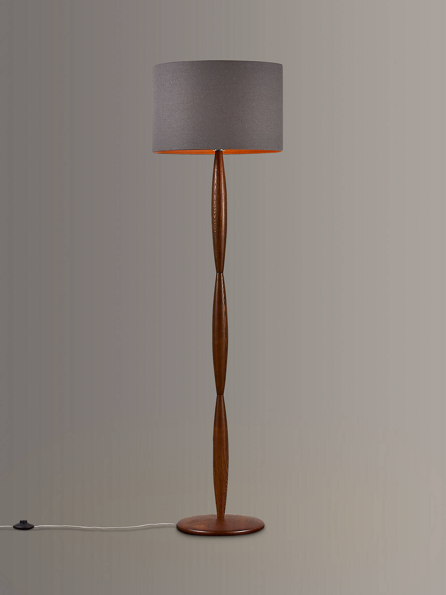 Partners E Spindle Wooden Floor Lamp