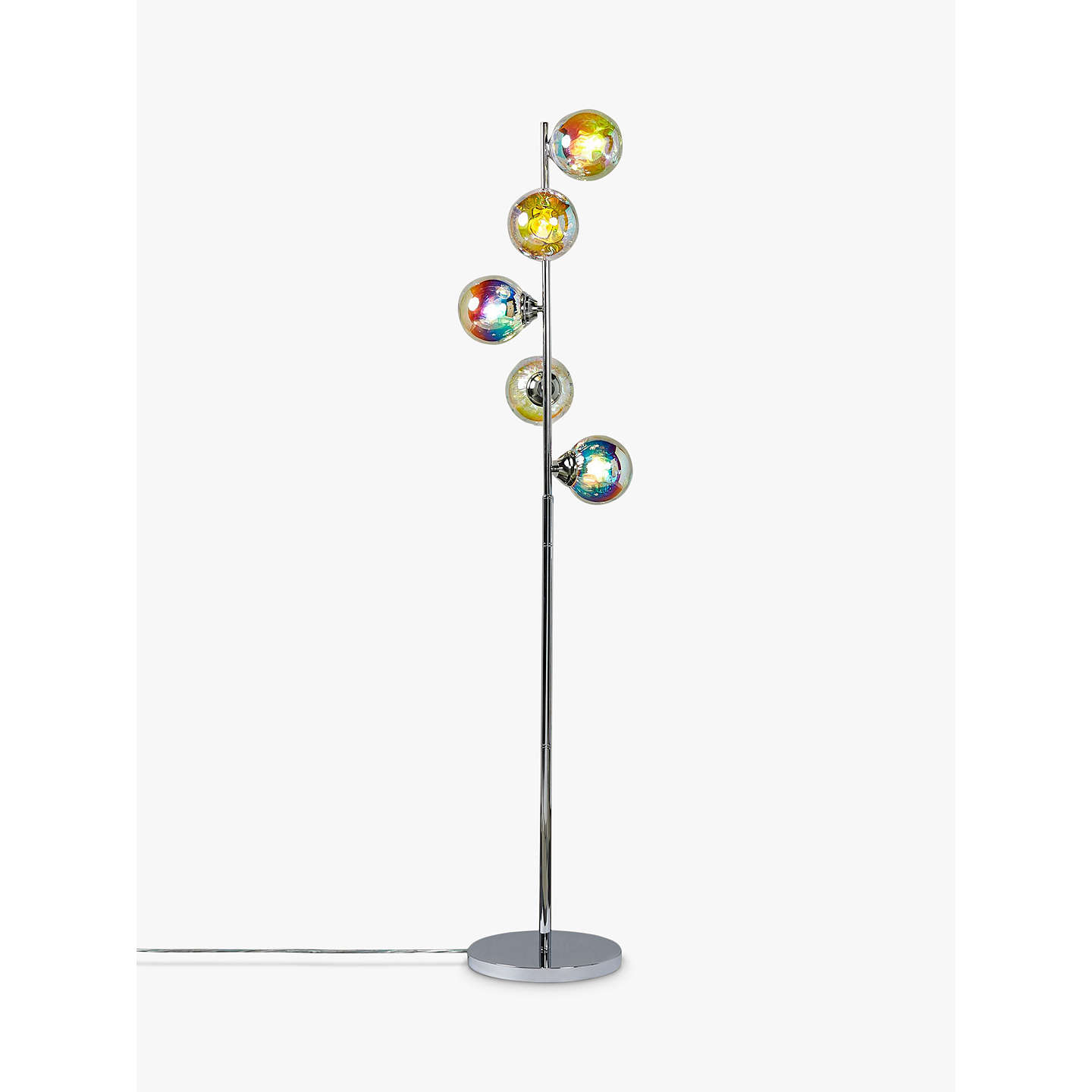 John lewis jester iridescent 5 light floor lamp multi at john lewis buyjohn lewis jester iridescent 5 light floor lamp multi online at johnlewis mozeypictures Choice Image