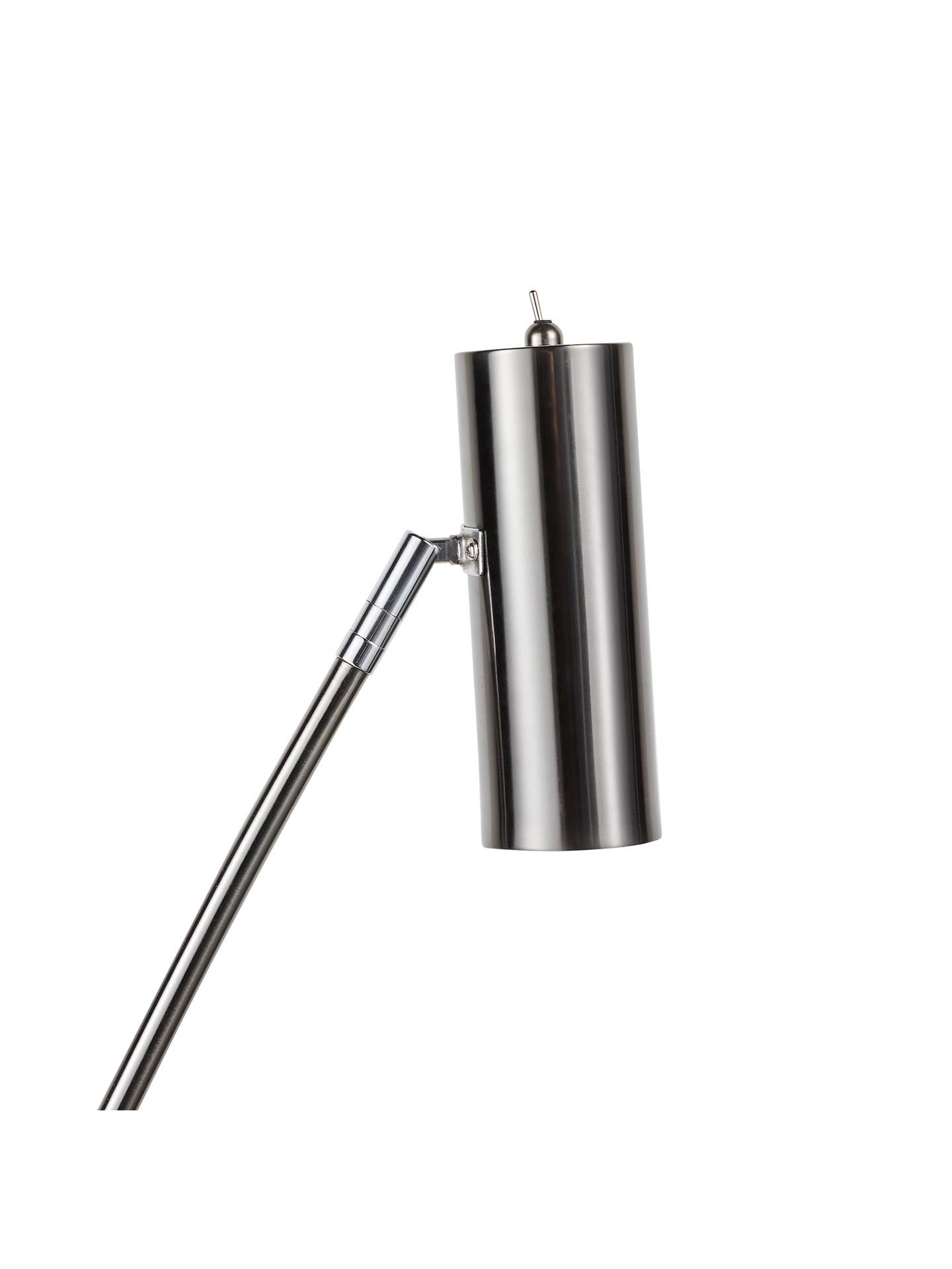John Lewis Partners Louie Led Floor Lamp At Promotional Candle Circuit Buy Promotion Buyjohn Black Nickel Online Johnlewis
