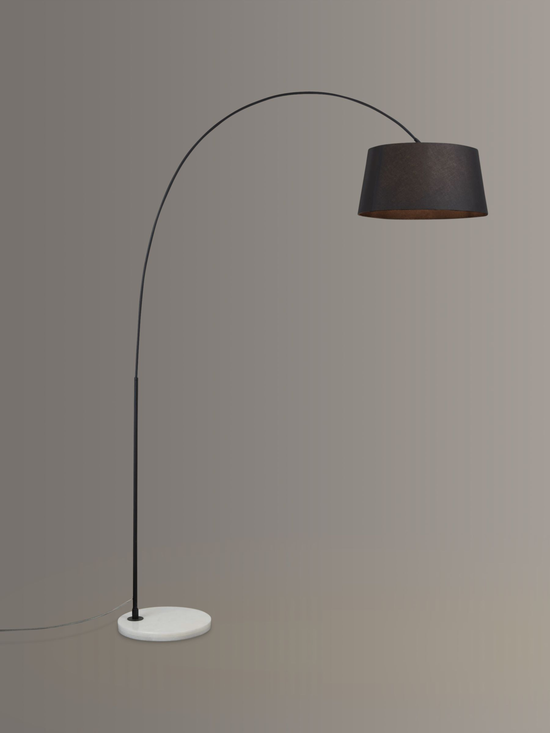 Design Project by John Lewis Design Project by John Lewis No.168 Arched Floor Lamp, Black